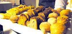 Il pane al Ristorante Alice