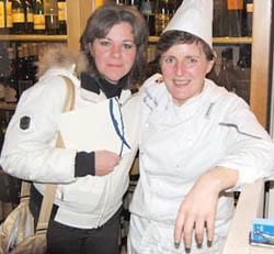 Federica Spelta con Viviana Varese