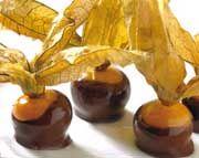 Alkekengi ricoperti di cioccolato