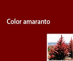 Color amaranto