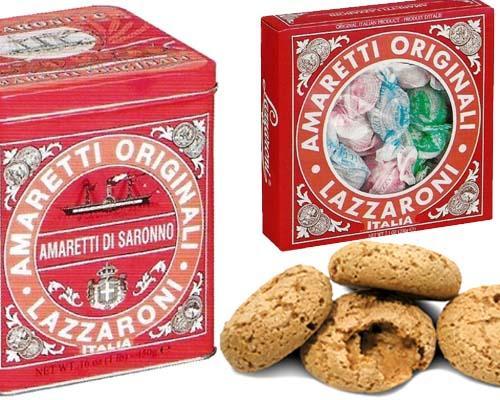 Amaretti di Saronno, biscotti