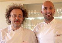 Andrea Ribaldone con Riccardo Aiachini