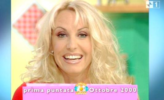 Antonella Clerici. Prima puntata PdC 2000
