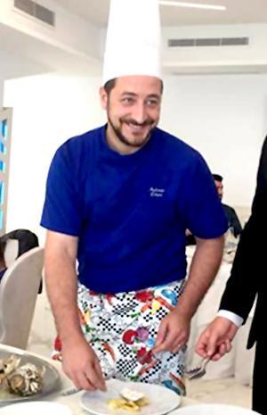 Antonio Totaro al ristorante