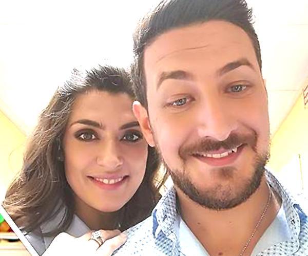 Elisa Isoardi con Antonio Totaro