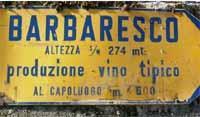 Etichetta vino Barbaresco