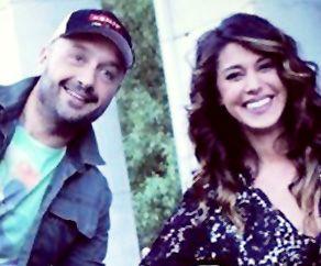Joe Bastianich con Belen Rodriguez