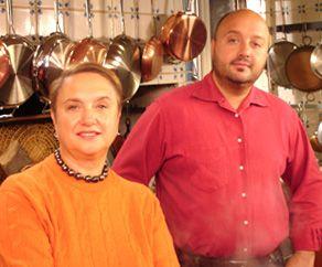 Joe Bastianich con mamma Lidia e qualche chilo in più