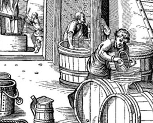Birrificio del medioevo