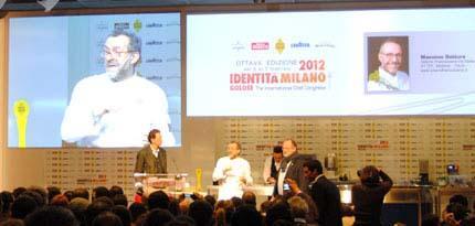 Bottura e Paolo Marchi