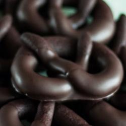 Brezel con cioccolato