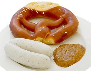 Brezel con Weißwurst
