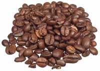 Chicchi di caffè tostato