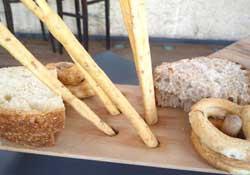 Pane e grissini al Calandrino