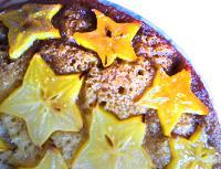 Torta con starfruit