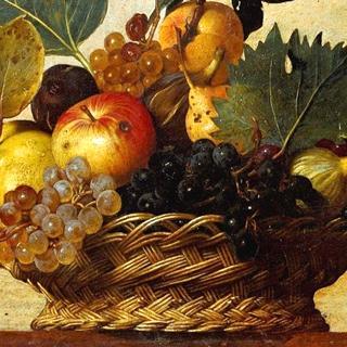 Canestra di frutta del Caravaggio