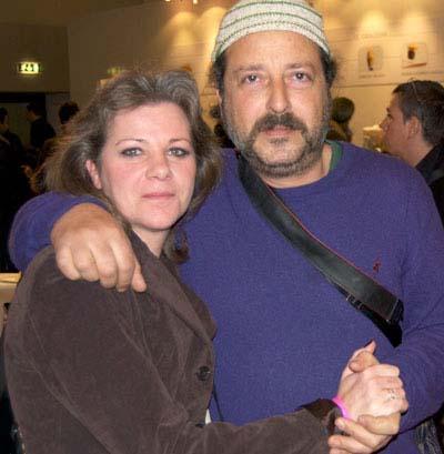 Federica Spelta (Alimentipedia) e Carmelo Chiaramonte