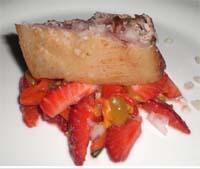 Un piatto di Carmelo Chiaramonte