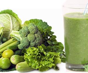 Ricette di centrifugati a base di ortaggi verdi