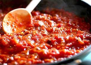 Salsa con concentrato di pomodoro