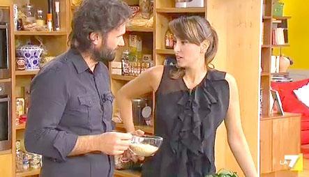 Carlo Cracco e Benedetta Parodi
