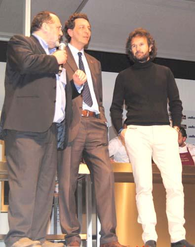 Paolo Marchi, Nicola Baldrighi, Carlo Cracco