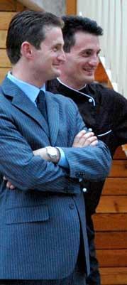Cristian e Renzo Bertol gemelli
