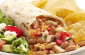 Burrito. Cucina messicana