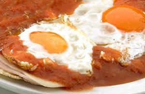 Huevos rancheros messicane