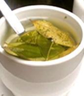 Mathe de coca, infuso andino