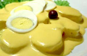 Ocopa arequipeña, piatto del Perù