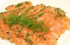 Gravad Lax, salmone marinato svedese