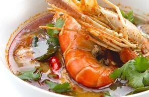 Tom Yum Goong. Cucina thailandese
