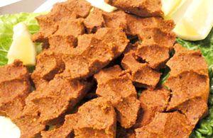 Çiğ Köfte, ricetta turca