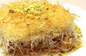 Kadayif, dolce turco