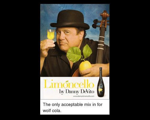 Danny DeVito e il limoncello