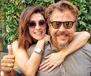 Andrea Lo Cicero con Elisa Isoardi