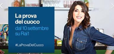 Elisa Isoardi, nuova conduttrice de La prova del cuoco