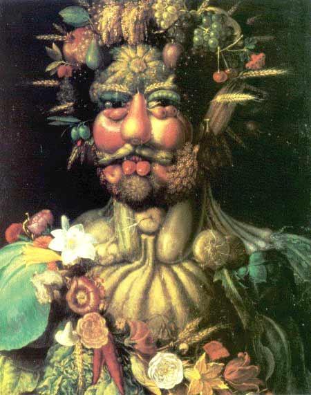 Ritratto di Rodolfo II come Vertumno di Giuseppe Arcimboldi