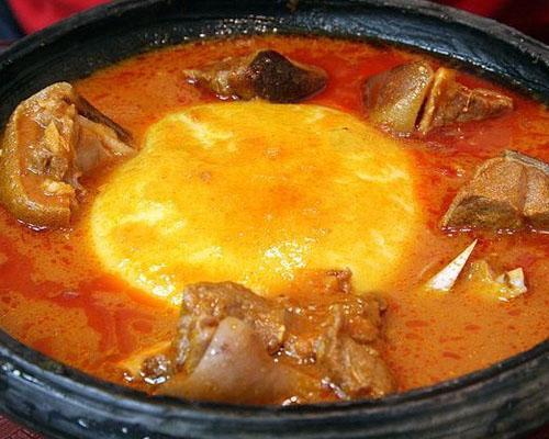 Fufu, piatto del Ghana