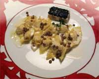 Un piatto di Gianfranco Vissani