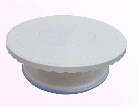 Giratorte o turntable per cake design