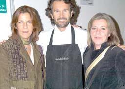 Carlo Cracco, Nicoletta e Federica Spelta