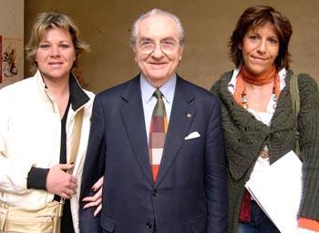Gualtiero Marchesi alla Mostra al Castello di Milano