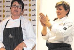 Sandra Ciciriello e Viviana Varese