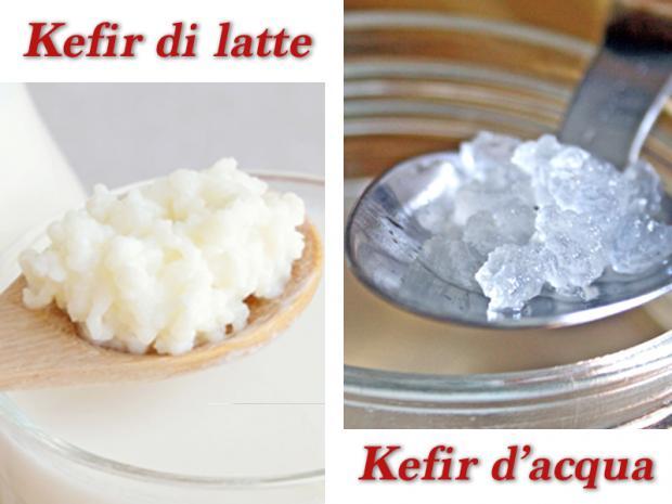 Kefir di latte e d'acqua