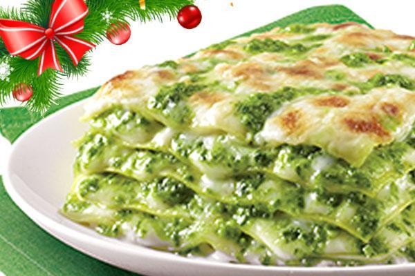 Lasagna vegetariana per Natale
