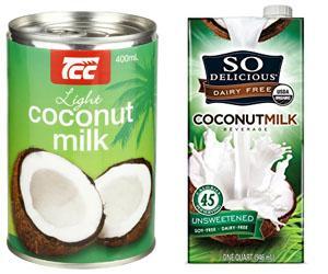 Latte di cocco in brik
