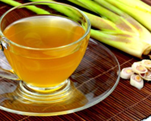 Infuso e tea di lemongrass