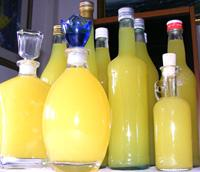 Bottiglie di limoncello